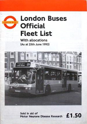 London's Buses, Used