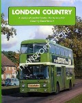 Book cover of London Country - A History of London Country Bus Services Ltd. by AKEHURST, Laurie & STEWART, David