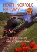 Book cover of The North Norfolk Railway - Souvenir Guide to the Poppy Line by ALLEN, Steve and Debbie