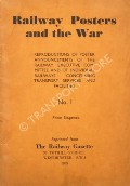 Book cover of Railway Posters and the War  by The Railway Gazette