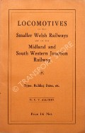 Locomotives of the Smaller Welsh Railways and of the Midland and South Western Junction Railway by ALLCHIN, M.C.V.