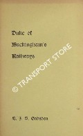 Duke of Buckingham's Railways by GADSDEN, E.J.S.