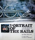 Book cover of Portrait of the Rails: From Steam to Diesel by BALL, Don