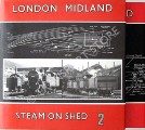 London Midland Steam on Shed  by 45562