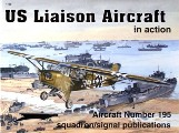 Book cover of US Liaison Aircraft in action by ADCOCK, Al