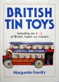 British Tin Toys  by FAWDRY, Marguerite