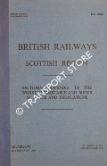 Sectional Appendix to the Working Timetable and Books of Rules and Regulations - 18th January, 1969 by British Railways Scottish Region
