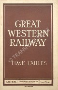 Time Tables - October 1st, 1934 to July 7th, 1935 by Great Western Railway