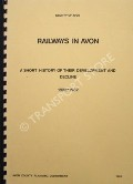 Railways in Avon by Avon County Planning Department