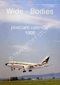 Wide-Bodies Postcard Calendar 1995 by J J Postcards