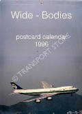 Wide-Bodies Postcard Calendar 1996 by J J Postcards