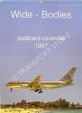 Wide-Bodies Postcard Calendar 1997 by J J Postcards