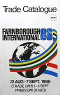 Farnborough International - Trade Catalogue 1986 by Society of British Aerospace Companies