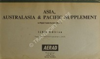Book cover of Asia, Australasia & Pacific Supplement to Flight Guide Sections H, I, J by British Airways AERAD