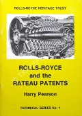 Rolls-Royce and the Rateau Patents by PEARSON, Harry