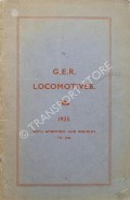 G.E.R. Locomotives 1923 with additions and rebuilds to 1943 by ALDRICH, C. Langley