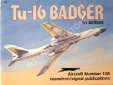 Book cover of Tu-16 Badger in action by BOCK, Robert