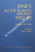 Jane's All the World's Aircraft 1992-93 by LAMBERT, Mark (ed.)