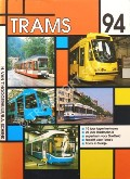 Book cover of Trams 1994 by HOOGERHUIJS, Herman van't & SCHENK, Bas