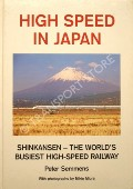 Book cover of High Speed in Japan by SEMMENS, Peter