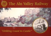 Book cover of The Aln Valley Railway by Aln Valley Railway