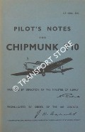 Pilot's Notes for Chipmunk T10 by Air Ministry