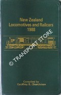 New Zealand Locomotives and Railcars 1988 by CHURCHMAN, Geoffrey B.