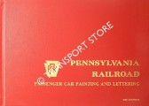 Pennsylvania Railroad Passenger Car Painting and Lettering by BLARDONE, Charles & TILP, Peter