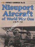 Nieuport Aircraft of World War One by BRUCE, J.M.