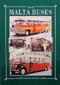 Book cover of The Malta Buses by BONNICI, Joseph & CASSAR, Michael