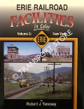 Erie Railroad Facilities in Color by YANOSEY, Robert J.