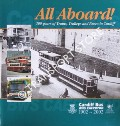 Book cover of All Aboard! - 100 Years of Trams, Trolleys and Buses in Cardiff by DAVIES, Roger