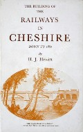 Book cover of The Building of the Railways in Cheshire down to 1860  by HEWITT, H.J.