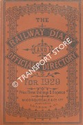 The Railway Diary and Officials Directory for 1929 by McCorquodale & Co.