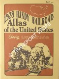 1928 Handy Railroad Atlas of the United States by Rand McNally