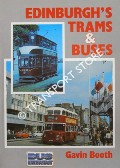 Edinburgh's Trams & Buses by BOOTH, Gavin