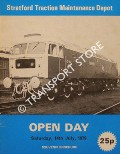 Stratford Traction Maintenance Depot Open Day - Saturday, 14th June 1979 by British Rail Eastern Region