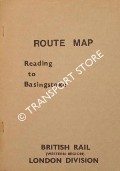 Book cover of Route Map - Reading to Basingstoke by British Rail (Western Region) London Division