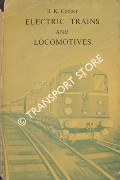 Electric Trains and Locomotives by COOPER, B. K.
