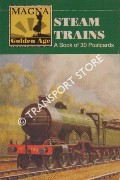 Steam Trains - A Book of 30 Postcards by Magna Books