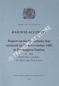 Railway Accident - Report on the Derailment that occurred on 23rd November 1983 at Paddington Station in the Western Region, British Railways by Department of Transport