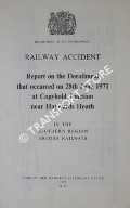 Railway Accident - Report on the Derailment that occurred on 28th June 1971 at Copyhold Junction near Haywards Heath in the Southern Region British Railways by Department of the Environment