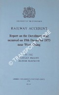 Railway Accident - Report on the Derailment that occurred on 19th December 1973 near West Ealing in the Western Region British Railways by Department of the Environment