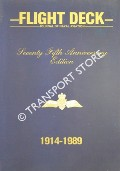 Flight Deck - Journal of Naval Aviation: Seventy Fifth Anniversary Edition 1914 - 1989 by CAWS, Lt. Cdr. Mike (ed.)