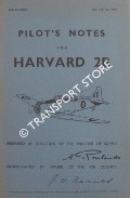 Pilot's Notes for Harvard 2B by Air Ministry