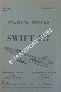 Pilot's Notes - Swift F.7 by Air Ministry