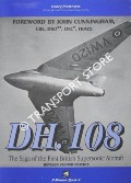 Book cover of DH.108 - The Saga of the First British Supersonic Aircraft by MATTHEWS, Henry