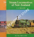 Steam Locomotives of New Zealand by McGAVIN, T.A. McCLARE, E.J.