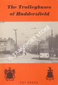 The Trolleybuses of Huddersfield by BROOK, Roy