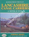 Book cover of Lancashire Canal Carriers - J. Monk & Sons by JONES, Norman; MONK, James Jnr. & Leonard